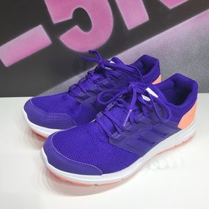 Adidas Running Cloudfoam shoes , purple peach